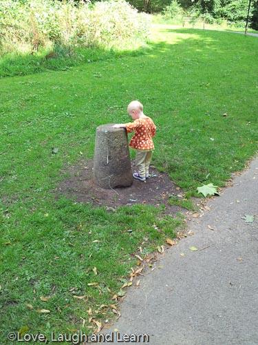 heaton park upside down bin
