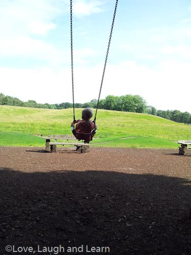 """""""I'm swinging up in the clouds!!"""" heaton park"""