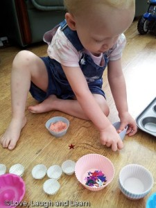 playdough cake decorating