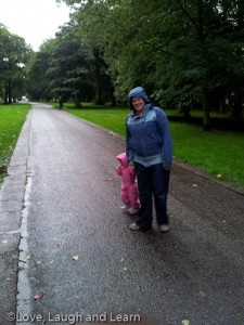 rainy woodbank park stockport