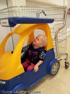 Tesco shopping trolley