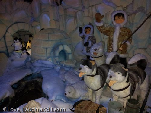 Reindeer and polar bears in the frozen north - 1 part 9