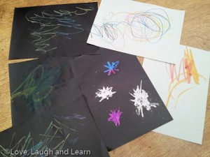 toddler firework art