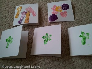 Homemade cards