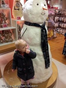 John Lewis snowman!