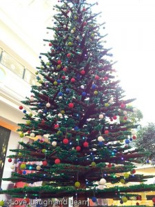 Trafford Centre Lego tree