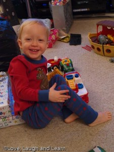 Christmas day pyjamas!