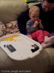 Toddler Lego Sotring