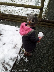 Toddler Snow Fun