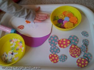 Foam Egg Decorating