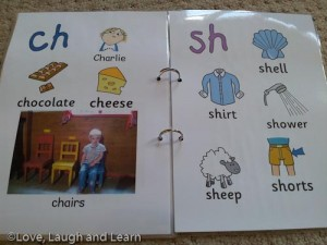 Annabelle's alphabet ch-sh