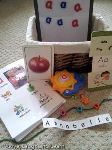 Letter basket - A
