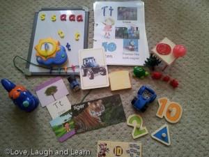 Letter Basket - T