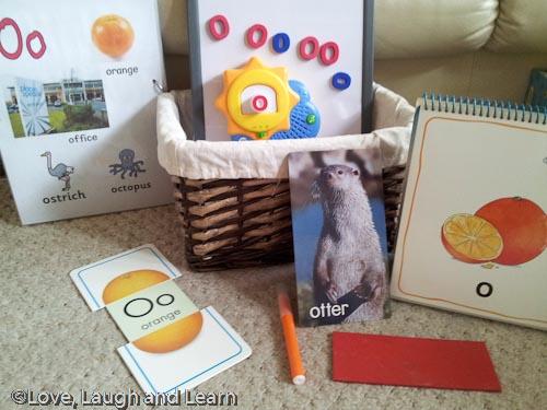 Letter Basket - O