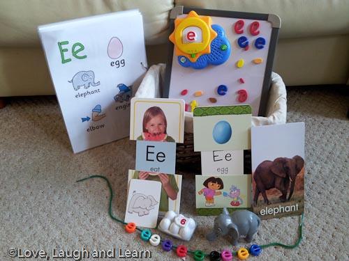 Letter Basket - E