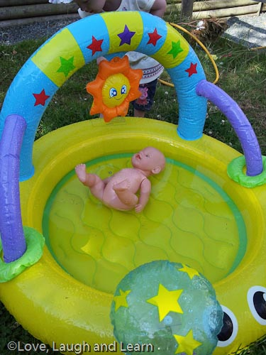 It s a doll s life love laugh and learn for Best children s paddling pool