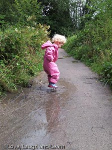 Etherow Country Park Puddles